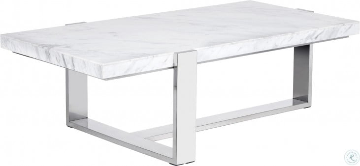 Super Tribecca White Marble Rectangular Coffee Table Squirreltailoven Fun Painted Chair Ideas Images Squirreltailovenorg