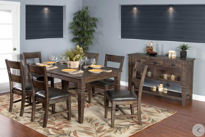 Fantastic Homestead Dark Brown Extendable Dining Room Set Download Free Architecture Designs Sospemadebymaigaardcom