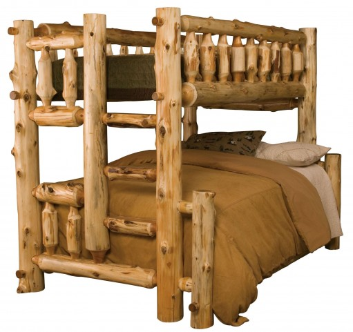 Cedar Right Full Over Twin Bunk Bed