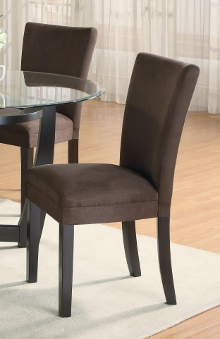 Bloomfield Chocolate Parson Chair Set of 2