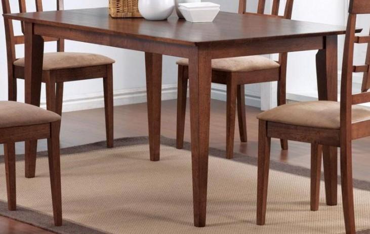 Mix & Match Walnut Rectangular Dining Table