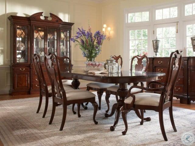 Fine American Cherry Potomac Fredericksburg Extendable Dining Room Set Download Free Architecture Designs Rallybritishbridgeorg