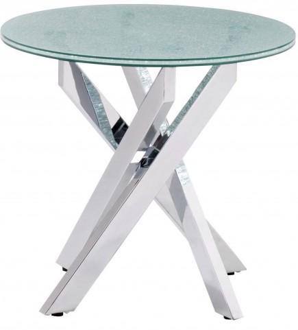 Stance Crackled Side Table