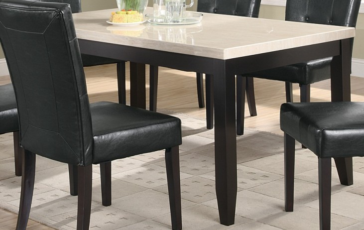 Anisa Dining Table w/ White Top - 102771