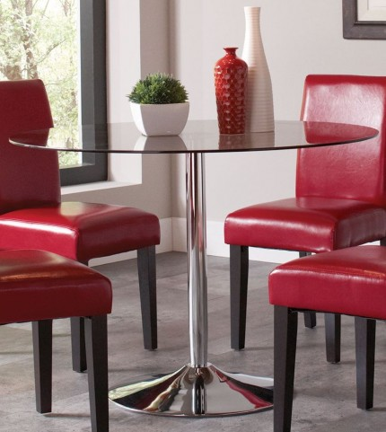 Clemente Chrome Dining Table