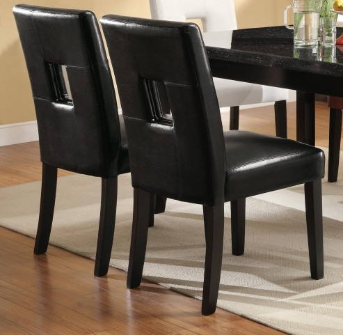 Newbridge Black Dining Chair 103612BLK Set of 2
