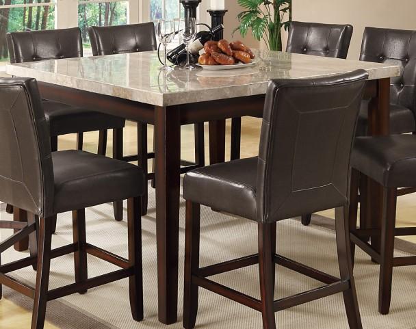 Milton Cappuccino Counter Height Table