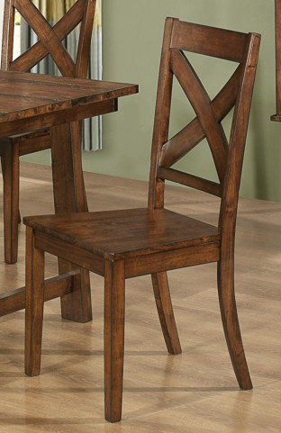 Lawson X Back Dining Chair Set of 2