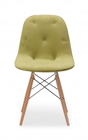 Probability Green Velour Chair