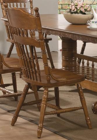 Brooks Oak Side Chair Set of 2
