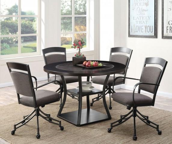 Ferdinand Dark Merlot Dining Room Set