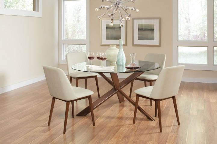 4b1370f4e307 Barett Chestnut Dining Chair Set of 2 from Coaster