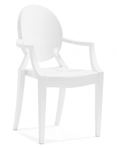 Anime Dining Chair White Set of 4