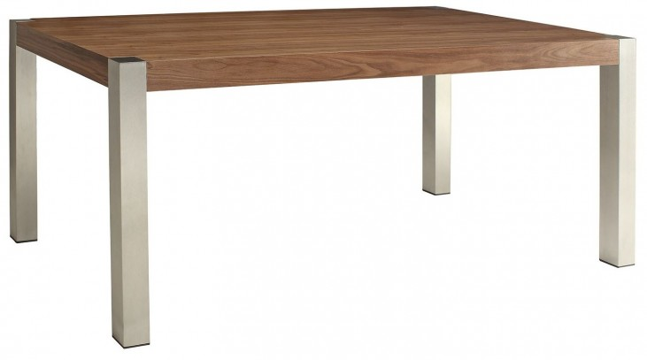 Faccini Medium Brown Rectangular Dining Table