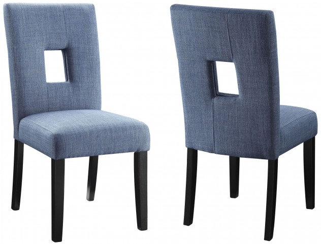 Andenne Blue Dining Chair Set of 2