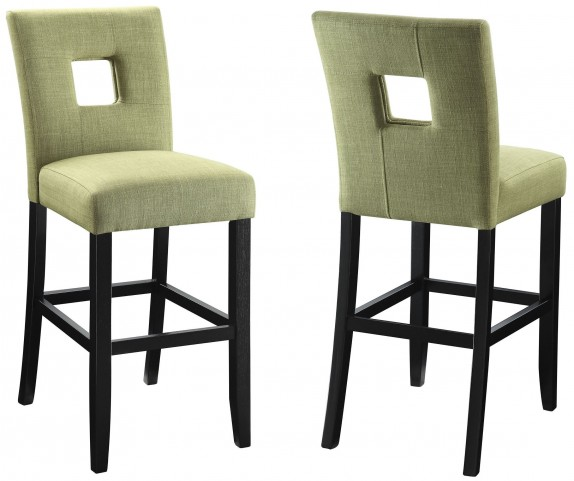 Andenne Green Counter Height Chair Set of 2