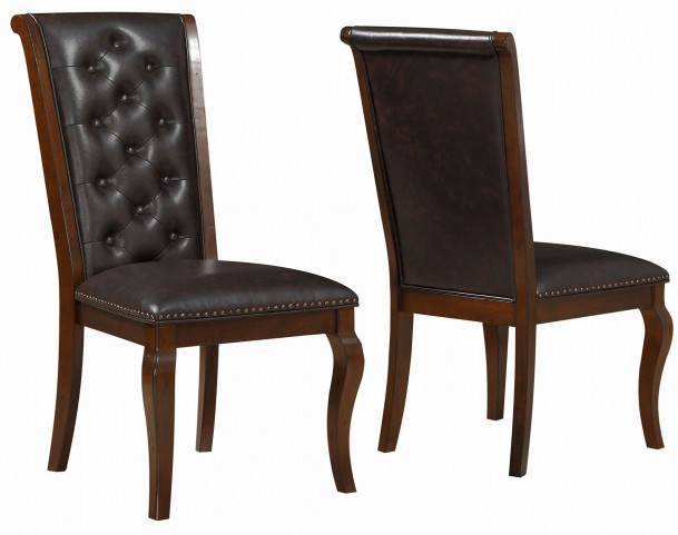 Williamsburg Roasted Chestnut Dining Chair Set of 2