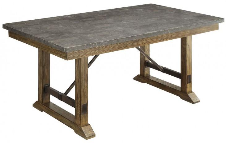 Willowbrook Gunmetal Dining Table