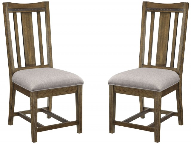 Willowbrook Rustic Ash Dining Chair Set of 2