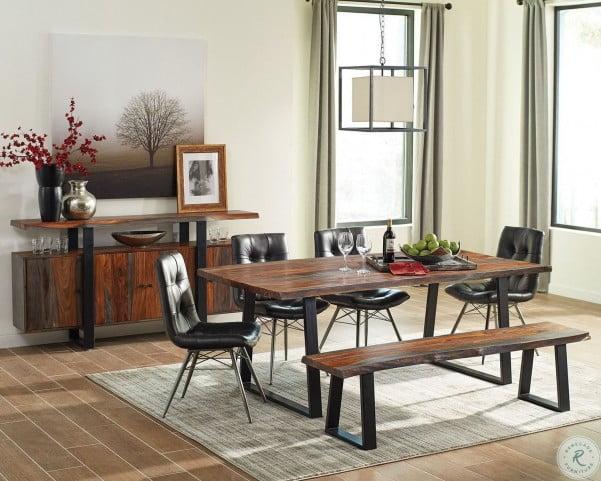 Jamestown Grey and Black Dining Room Set