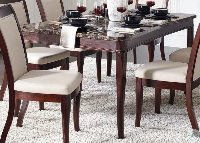 Wondrous Cornett Dark Brown Dining Table Download Free Architecture Designs Ferenbritishbridgeorg