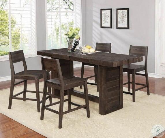 Astonishing Barnes Varied Coffee Counter Height Dining Room Set Creativecarmelina Interior Chair Design Creativecarmelinacom