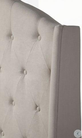 Ava Soap Tufted King Upholstered Platform Bed