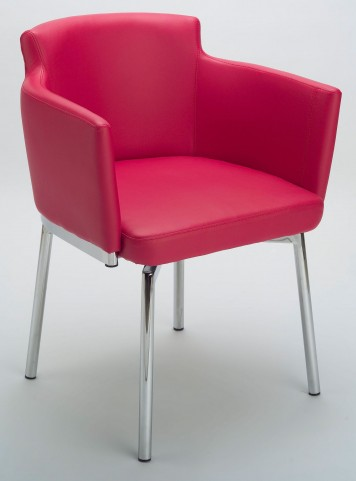 Garcia Red Swivel Chair