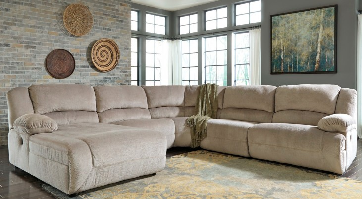 Toletta Granite LAF Reclining Sectional