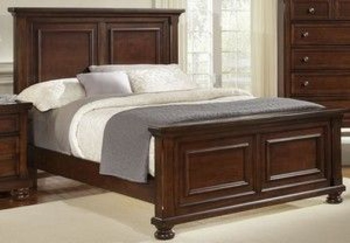 Reflections Dark Cherry Youth Mansion Bedroom Set
