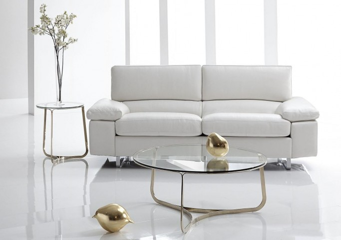 Blake Champagne Occasional Table Set