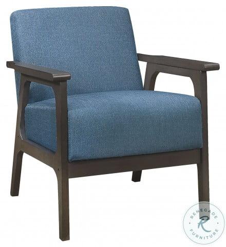 Ocala Blue Accent Chair