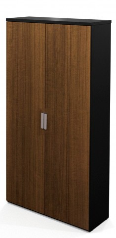 Pro-Concept Armoire In Milk Chocolate Bamboo & Black