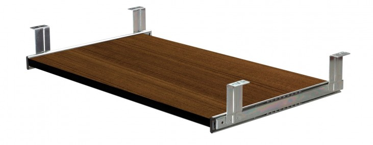 Pro-Concept Keyboard Shelf In Milk Chocolate Bamboo
