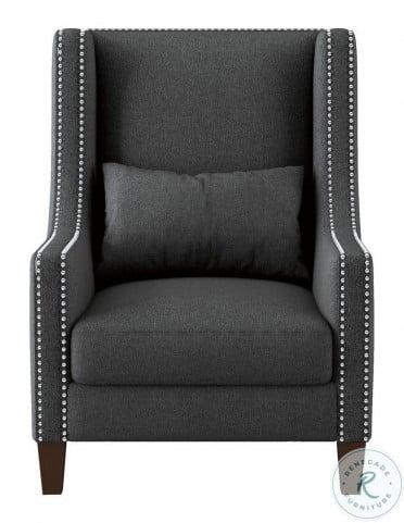 Keller Dark Gray Accent Chair