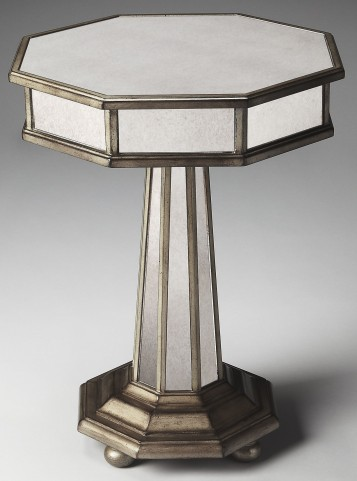 Elena Masterpiece Mirror Accent Table
