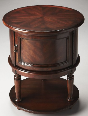 Coffield Plantation Cherry Drum Table