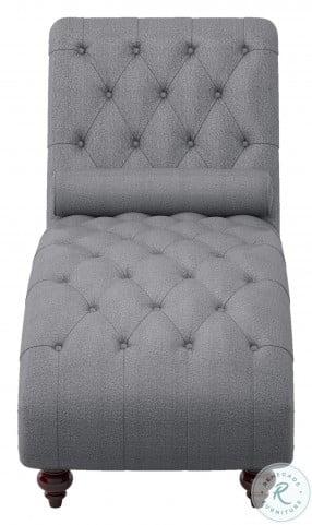 Bonne Dark Gray Chaise