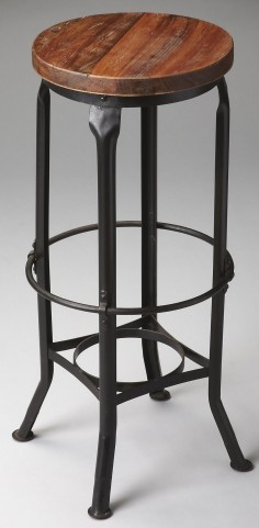 1167025 Industrial Chic Metalworks Bar Stool