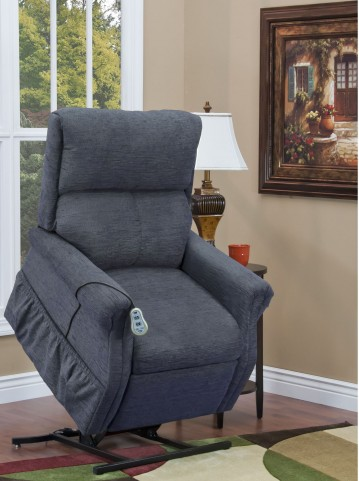 Encounter Blue Two Way Reclining Lift Chair