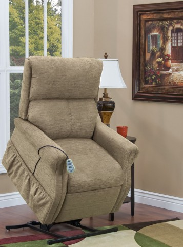 Encounter Khaki Two Way Reclining Lift Chair