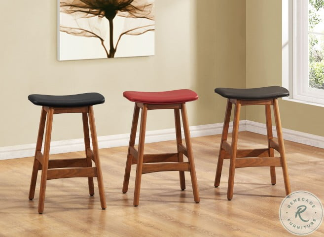 "Ride Matt Brown 24"" Counter Height Stool Set of 2"