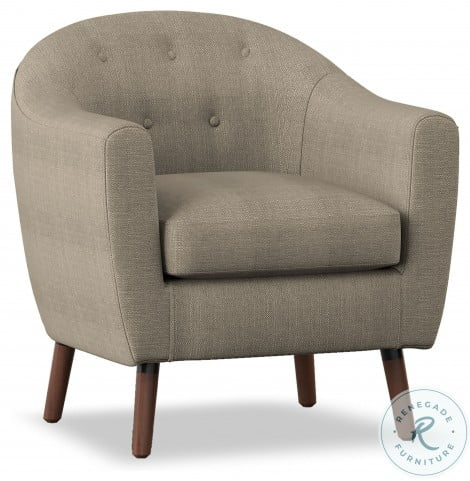 Lucille Beige Accent Chair