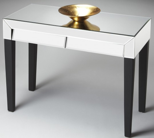 Modern Expressions Mirror Console Table