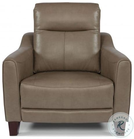 Forte Beige Power Reclining Living Room Set With Power Headrest