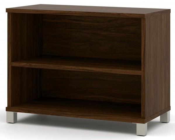 Pro-Linea Oak Barrel 2-Shelf Bookcase