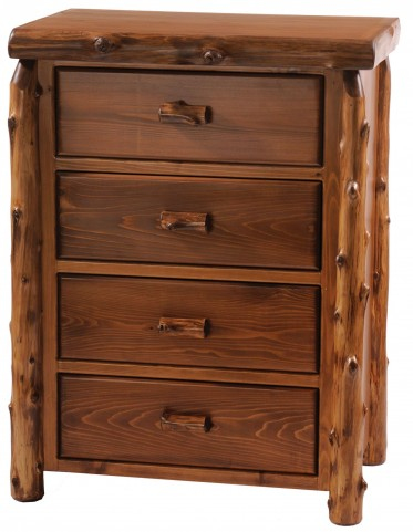Vintage Cedar Value Four Drawer Chest