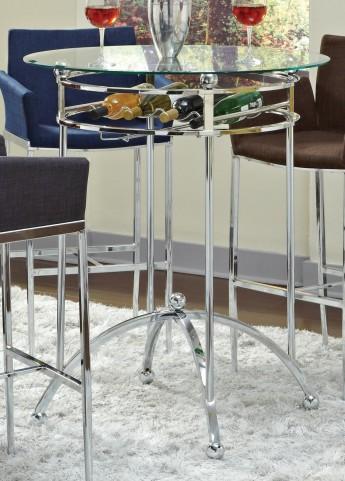 Chrome Bar Table 120335