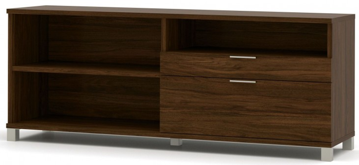 Pro-Linea Oak Barrel Drawer Credenza