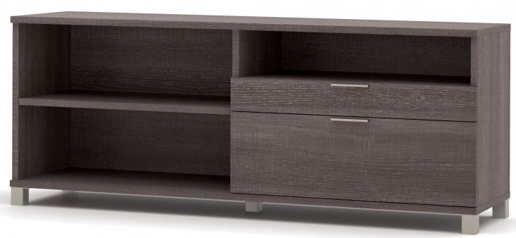 Pro-Linea Bark Grey Drawer Credenza